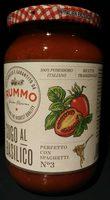 Sauce tomate avec basilic - Product - fr