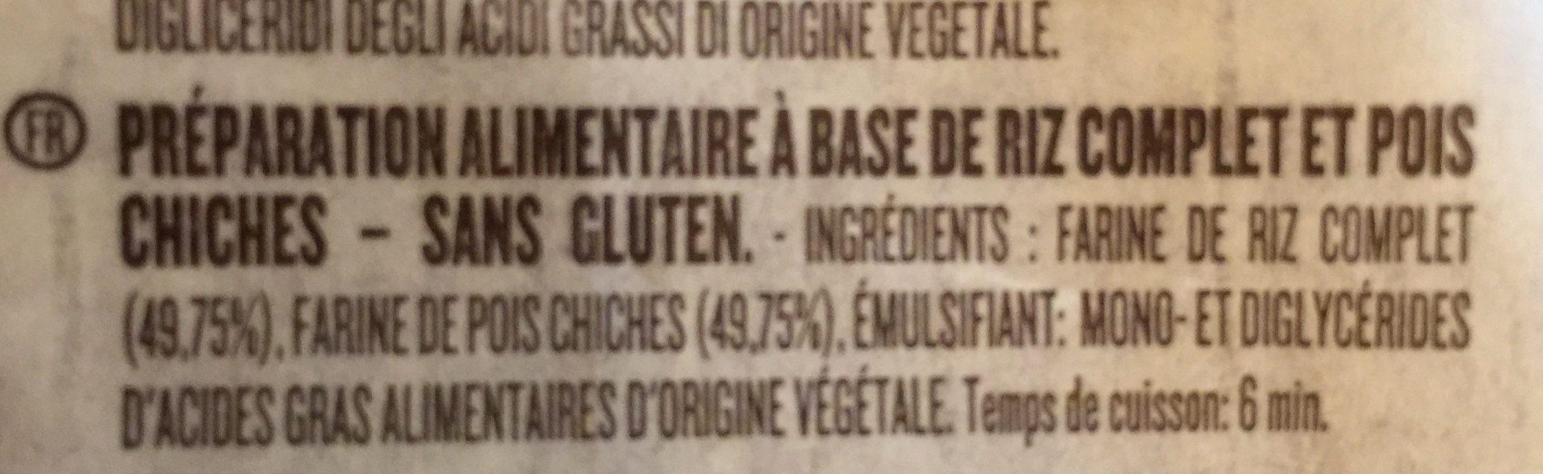 Penne rigate 66 - Ingredients - fr