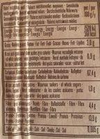 Maccheroncelli® aux lentilles corail et riz complet - Voedingswaarden - fr