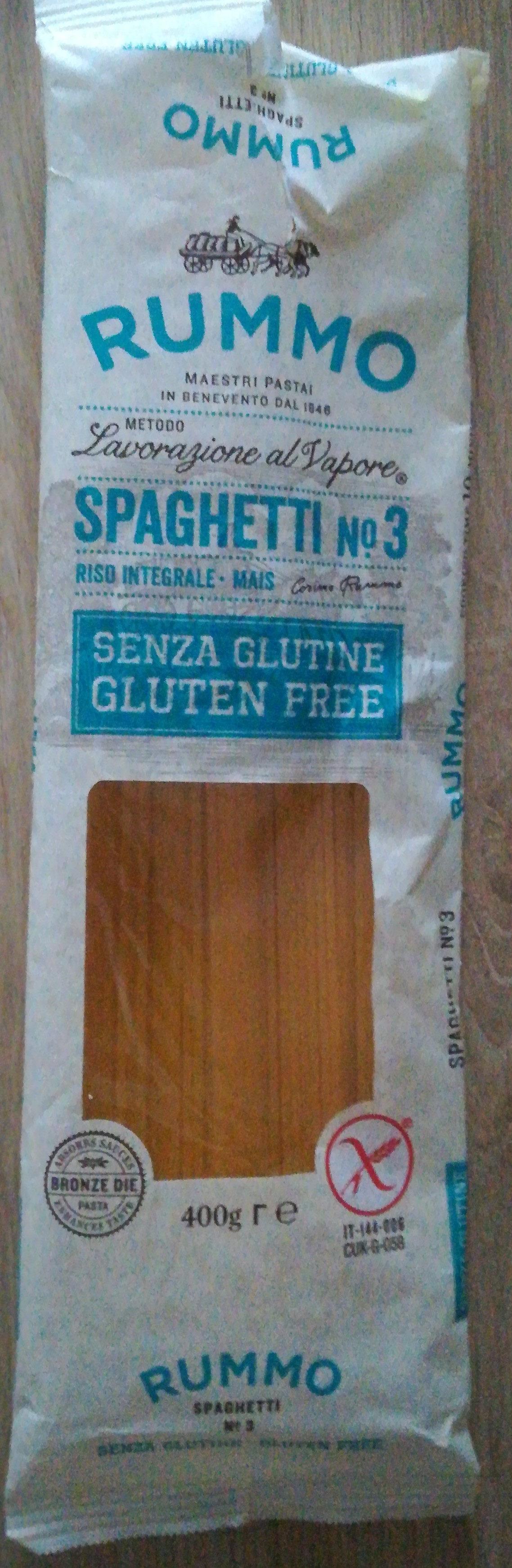 Spaghetti gluten free - Product - fr
