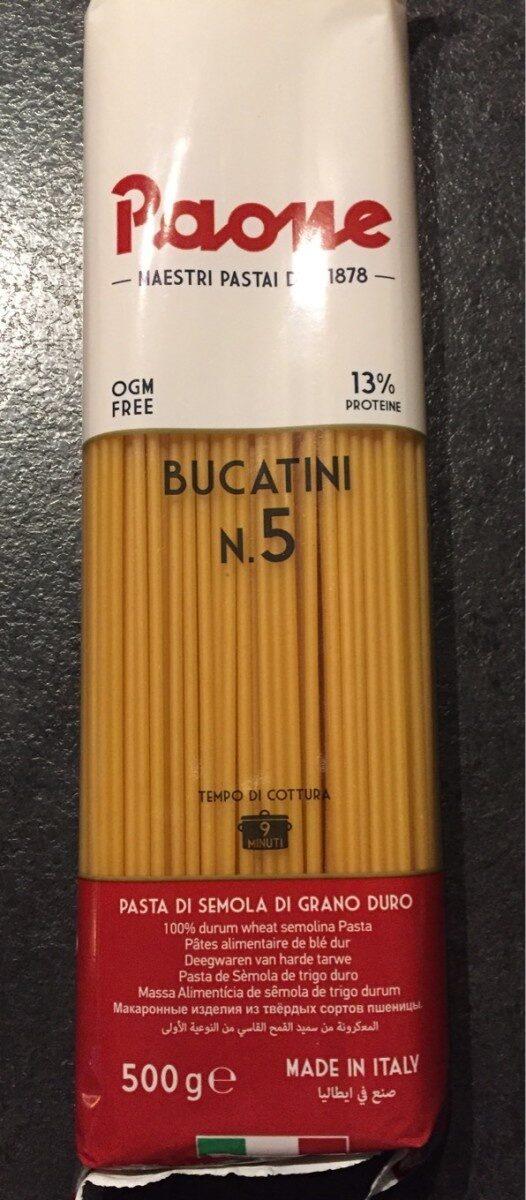 Bucatini n.5 pâte de blé dur - Produit