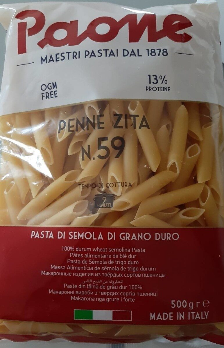 Penne zita - Product