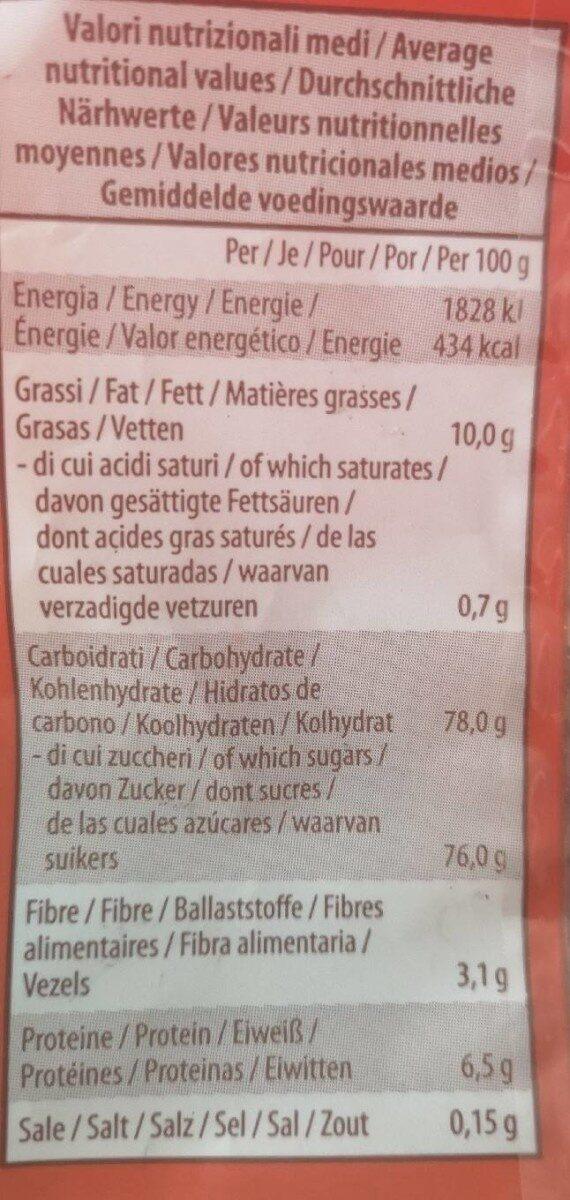 Gadeschi Amaretti Koekjes - Nutrition facts - en