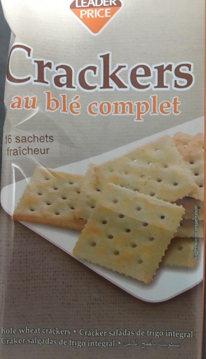 Crackers au Blé Complet - Produit