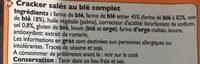 Crackers au Blé Complet - Ingrédients