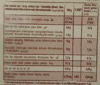 Baby biscuit - Voedingswaarden - fr
