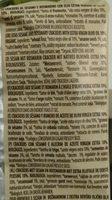Crich Crackers Sesam Rozemarijn Bio - Ingredients