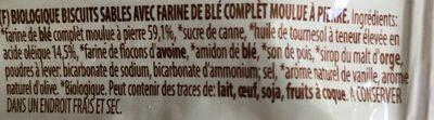 Biscotto - Ingredients