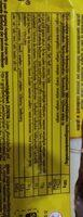 Pausa Ciok - Informação nutricional - de