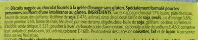 Orangino - Ingredients