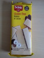 Glutenfreie Waffeln mit Kakaofüllung - Product - en