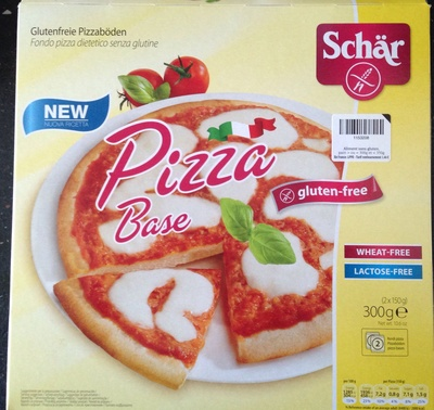 Gluten Free Pizza Base 2 x (300g) - Product - fr