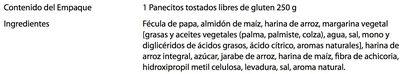 Biscottes - Ingredientes - es