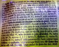 Cereal Bar - Ingredients