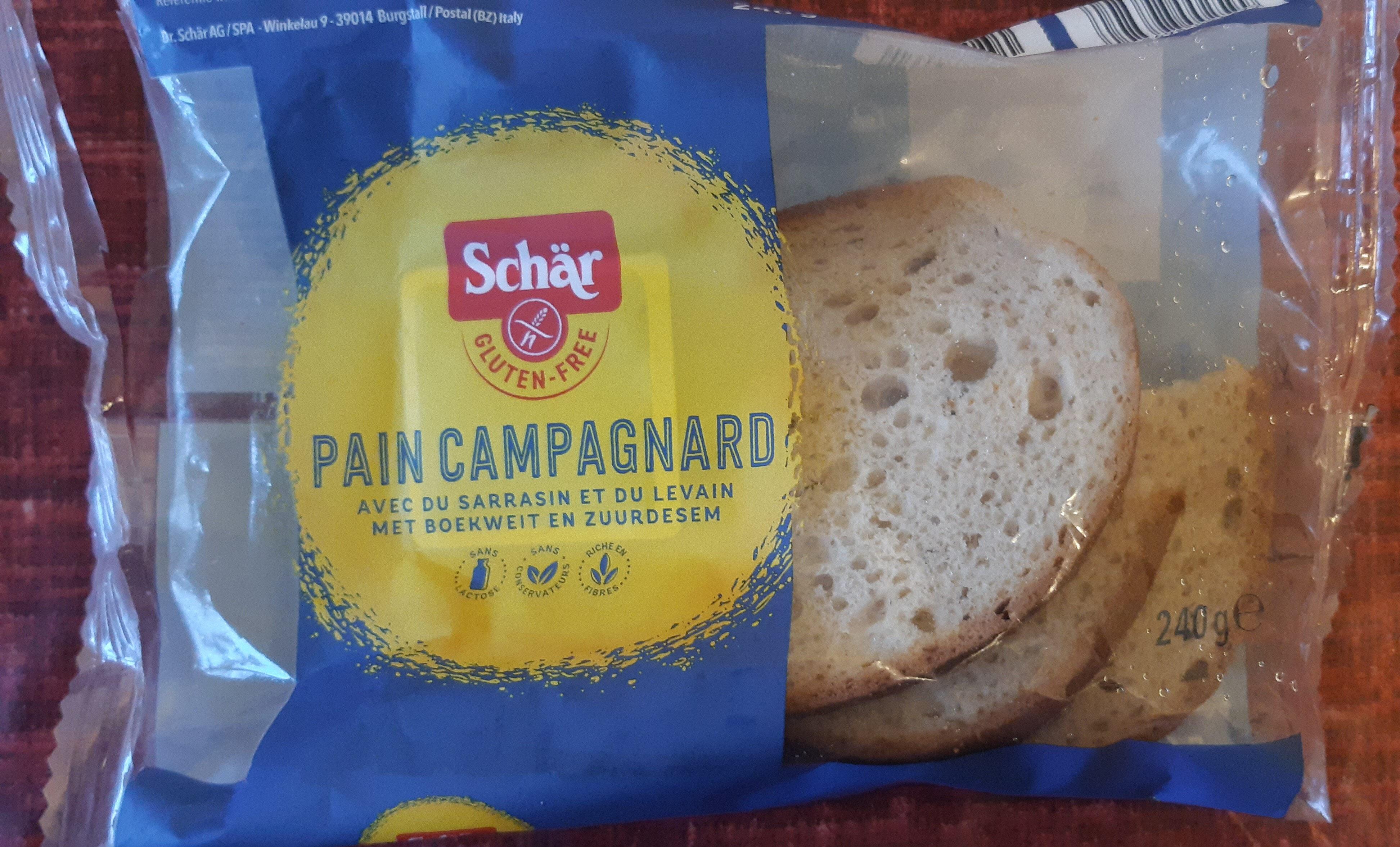 Pain campagnard avec du sarrasin et de levain - Product - fr