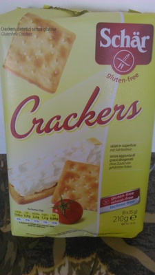 Crackers sin gluten - Product