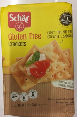Crackers sin gluten - Producto - fr