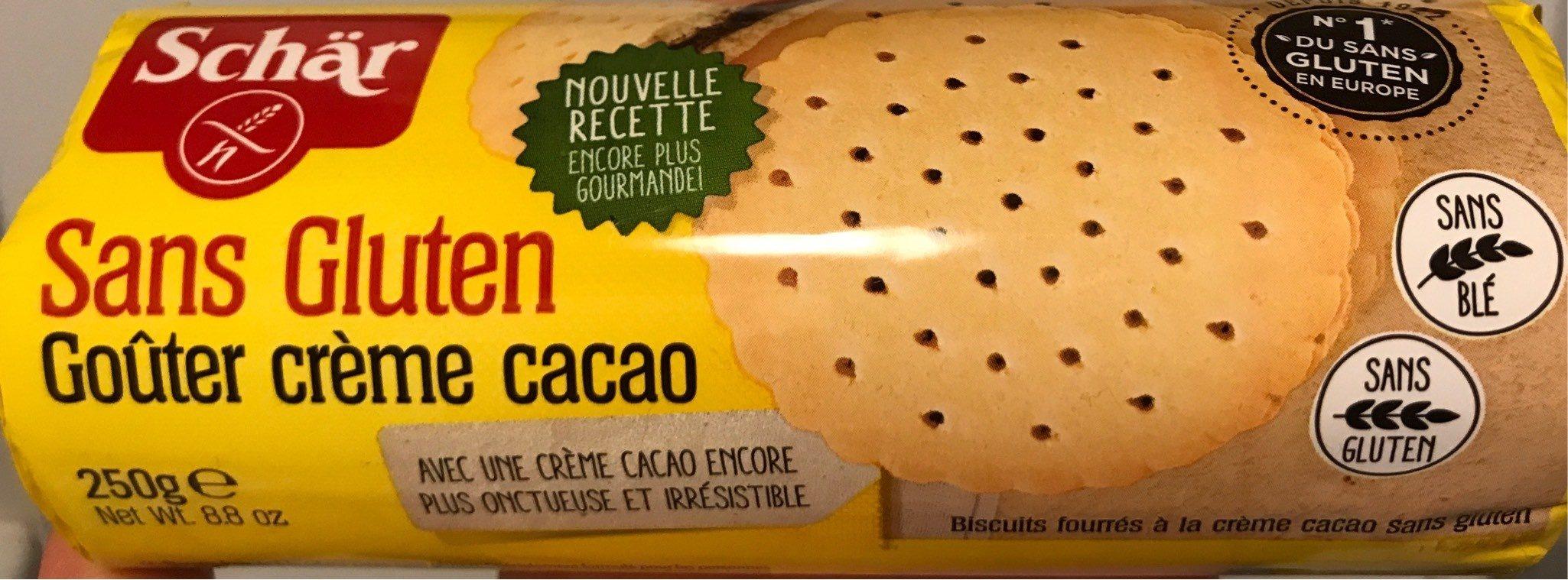 Gouter creme cacao sans gluten - Produkt - fr