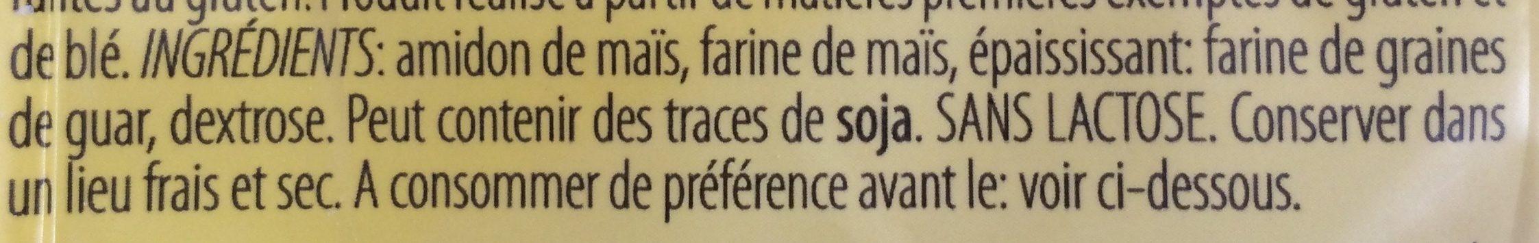 Farine sans gluten - Ingredients - fr