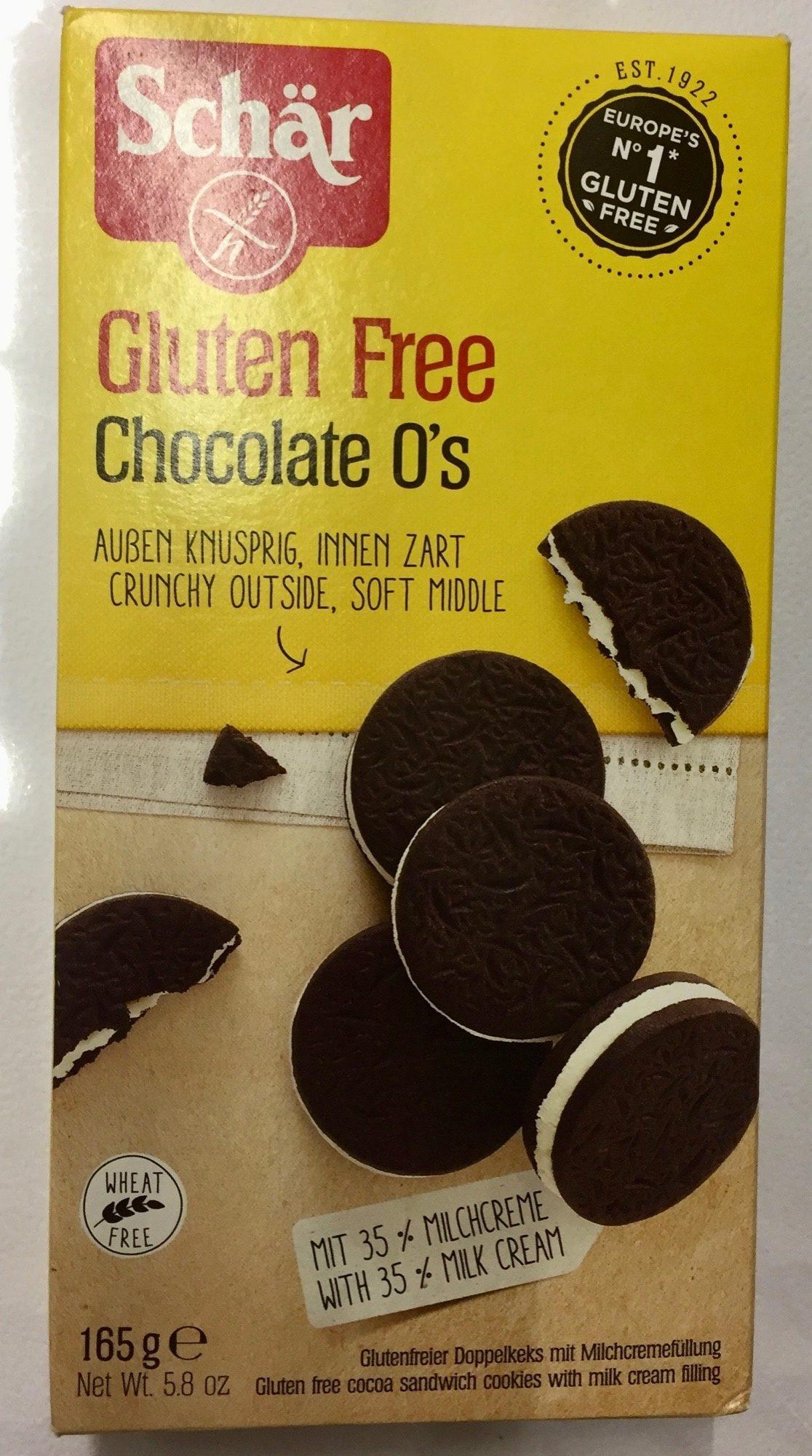 Disco ciok galletas al cacao con crema de leche sin gluten - Producto - es