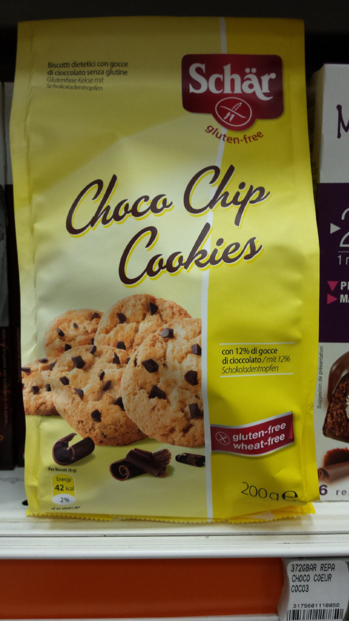 Choko Chip Cookies - Product - nl