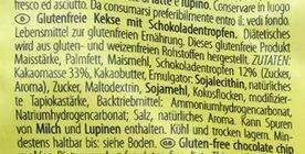 Choko Chip Cookies - Ingredientes - de