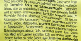 Choko Chip Cookies - Ingredients - de