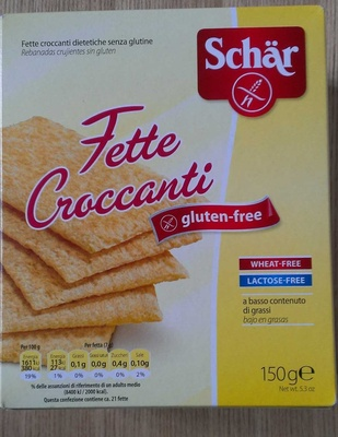 Gluten And Wheat Free Crispbread - Product