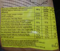 maestro cereale - Informazioni nutrizionali