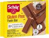 Twin bar galletas de barquillo cubiertas de chocolate - Product