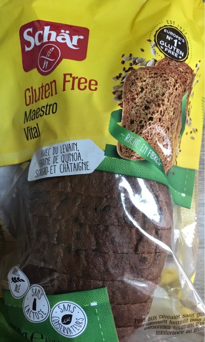 Wholesome Vitality Loaf sans gluten - Product - en