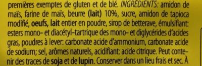 Petit Beurre Sans Gluten - Ingrediënten