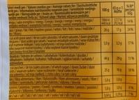 Muffins choco - Nährwertangaben - fr