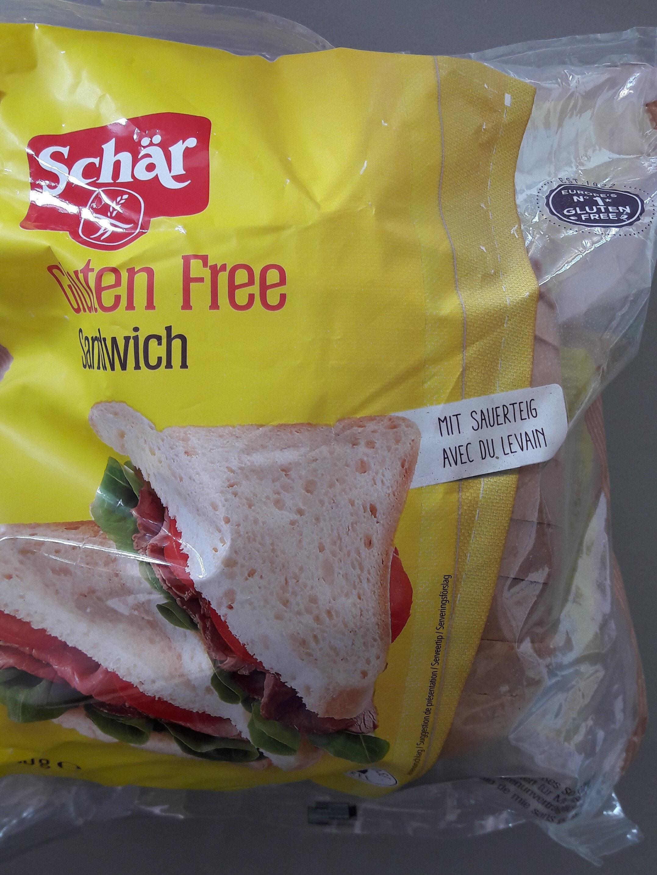 Schar Sandwich Bianco 400G - Produit - fr
