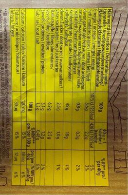 Schar Sandwich Bianco 400G - Informations nutritionnelles - fr