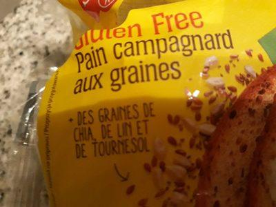 Pain campagnard aux graines - Product - fr