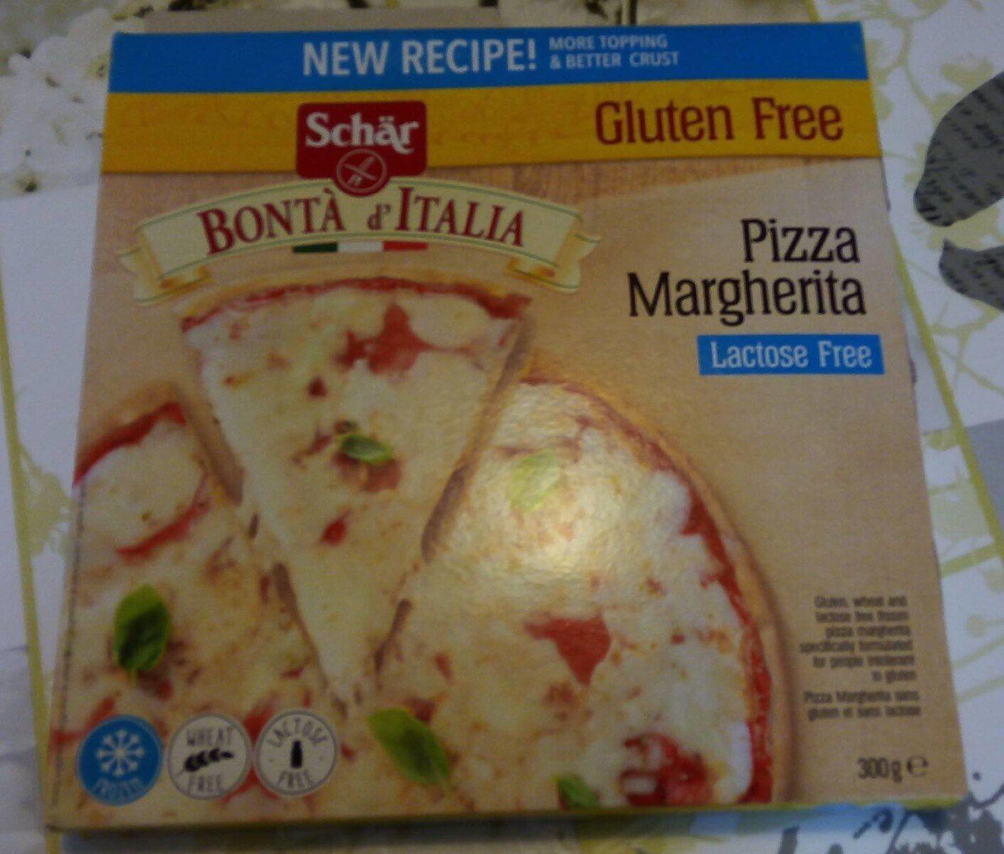 Pizza Margherita sans gluten - Product - fr