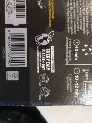 Bontà d'Italia - Pizza Margherita (Lactose Free) - Instruction de recyclage et/ou informations d'emballage - fr
