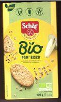 Bio apple Bisco - Ingredients - es