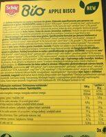 Bio apple Bisco - Nutrition facts - es