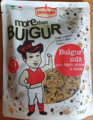 Bulgur mix with lupin, quinoa & lentils - Product - en