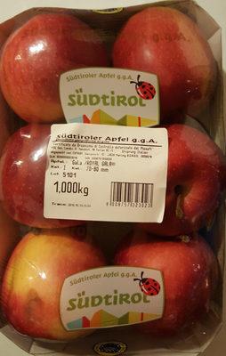 Südtiroler Apfel, Gala, Kat. 70-80 mm - Produkt