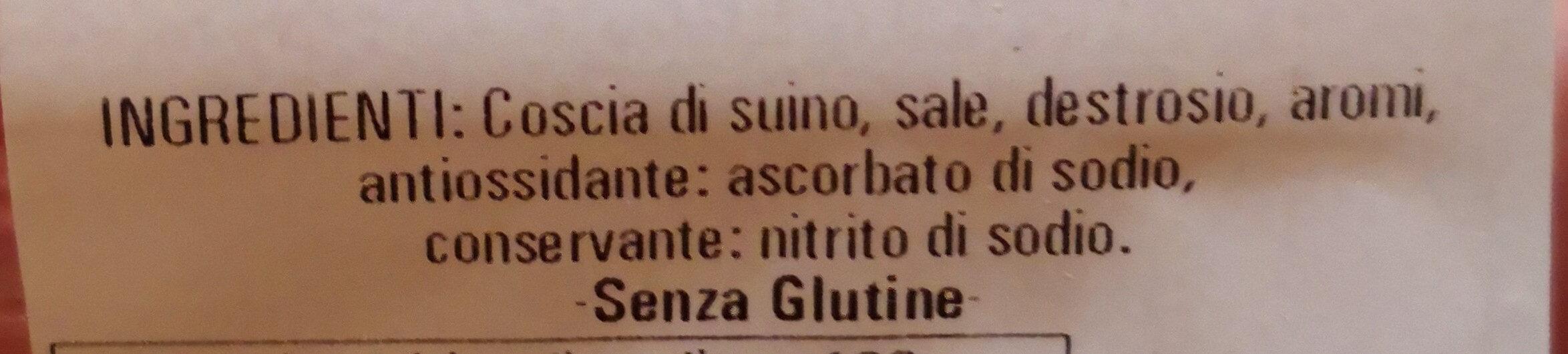 prosciutto cotto - Ingredients