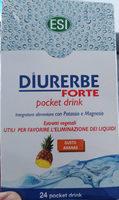 Diurerbe Forte pocket drink - Produit