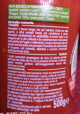 Pulpe De Tomate - Ingredients