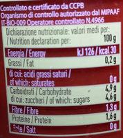 Pulpe De Tomate - Nutrition facts