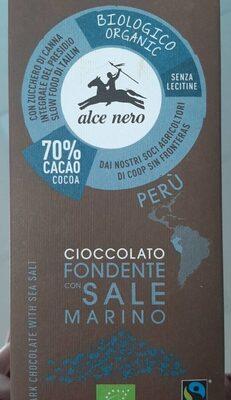 Cioccolato fondente con sale marino - Producto - es