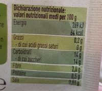 Pera - Nutrition facts - it