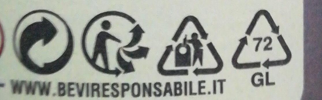 Menabrea - La 150° Bionda - Istruzioni per il riciclaggio e/o informazioni sull'imballaggio - it