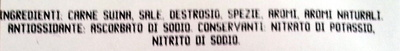 SALAME UNGHERESE PURO SUINO - Ingredients - it